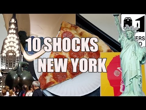 Visit New York - 10 Things That Will SHOCK You About New York City