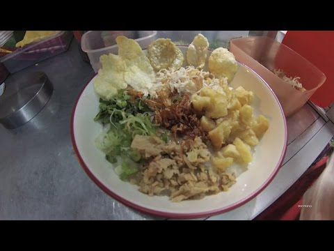 Indonesia Jakarta Street Food 1166 Part.1 Hongkong Chicken Porridge Bubur Ayam La Rasa5048