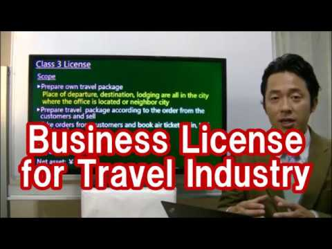 #067 Business license for travel industry - Starting Business in Japan