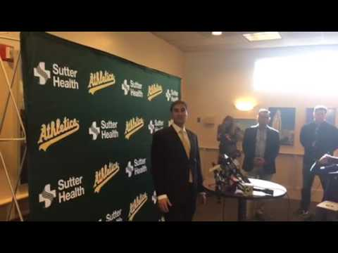 Dave Kaval Oakland A's New President On Development And Baseball Stadiums