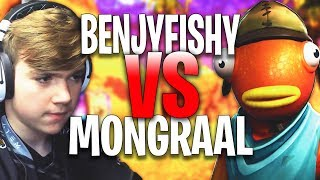 Mongraal Secreto 1 VS 1 Benjyfishy #2 Fortnite Creative 1v1 *SATISFACTORIA RÁPIDA SATISMIóN DE KEYBOARD*