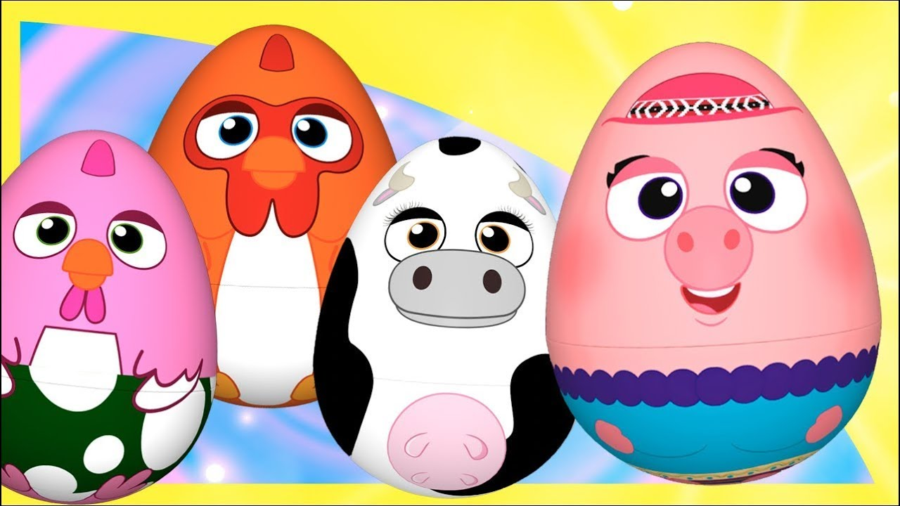 ¡Huevos Sorpresa de La Granja! Bartolito, Bataraza, Vaca Lola y Doña Pancha! | El Reino Infantil