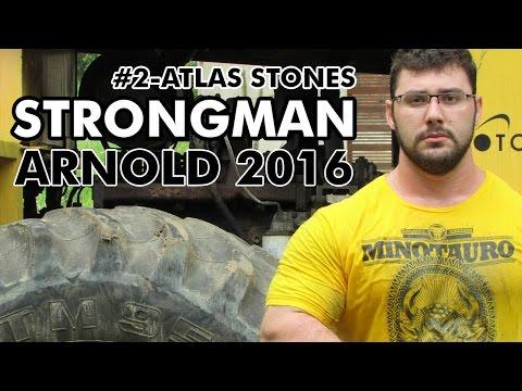 """ARNOLD 2016 - PREPARAÇÃO PARA STRONGMAN  #2- ATLAS STONES """"Gustavo Barile"""""""