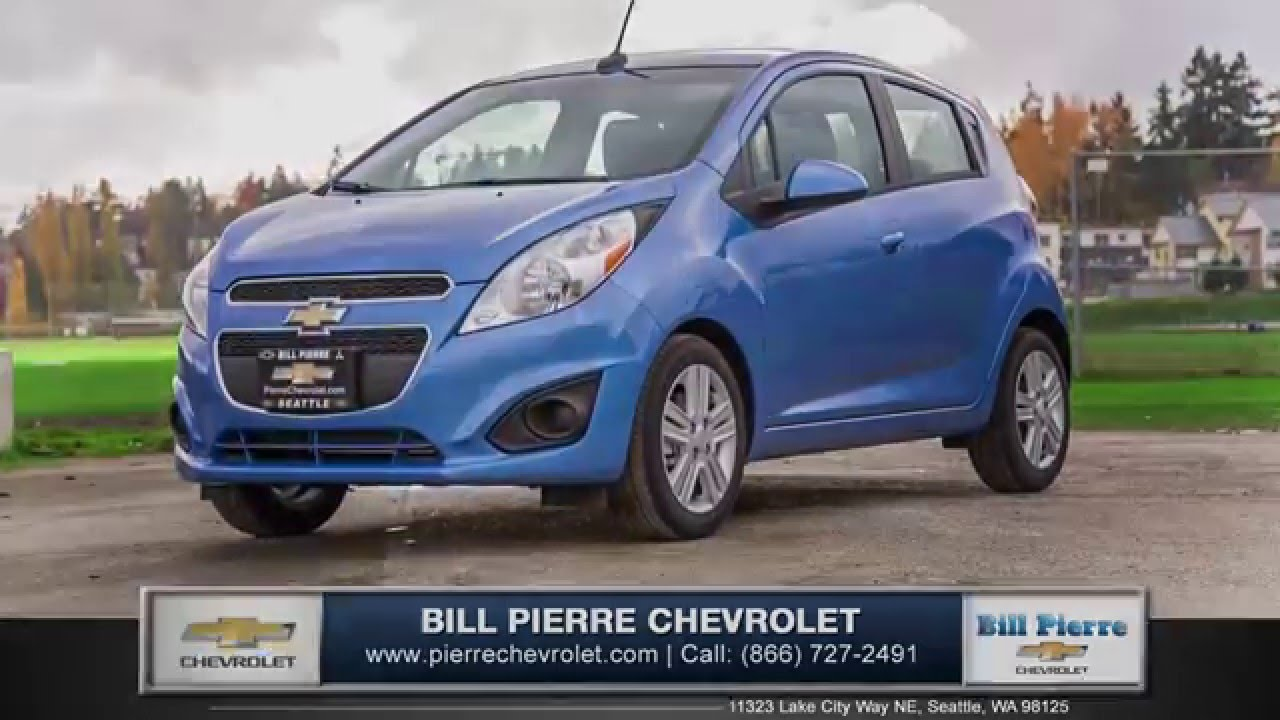 Bill Pierre Chevrolet >> 2015 Chevy Spark Review Bill Pierre Chevrolet Serving Seattle
