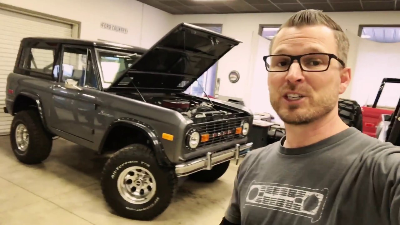Find The Vin Stamp On The Frame Of An Early Ford Bronco Youtube