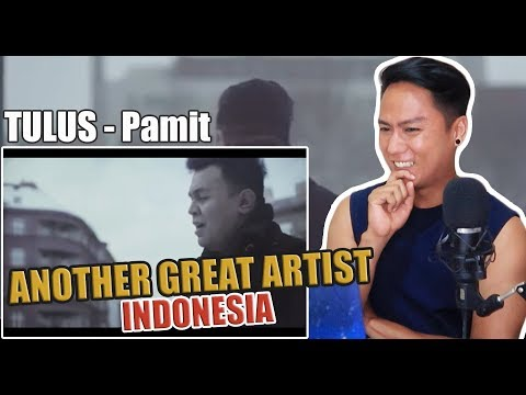 TULUS - Pamit (Official Music Video) | REACTION
