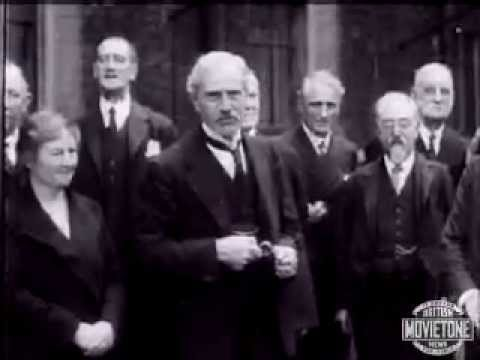 Ramsay MacDonald introduces his Labour Cabinet 1929