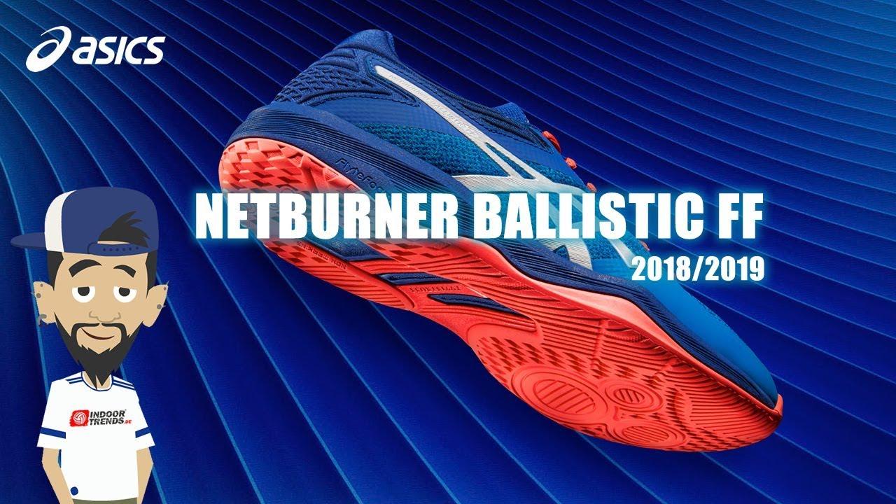Asics Herren Netburner Ballistic FF MT Volleyballschuhe