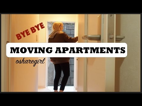 Moving Apartments in Yokohama | vlog