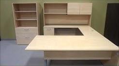 Lacasse Tan Desk