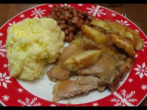 Easiest & Best Baked Pork Chops And Apples You Can Make For Your Family