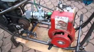Premiers tests du Rock'n Bob avec son moteur