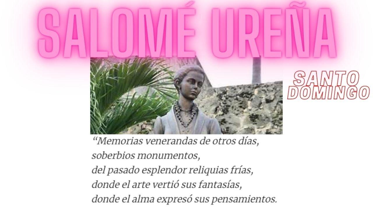 Poema Para Pessoa Amada: Salome Ureña Poemas