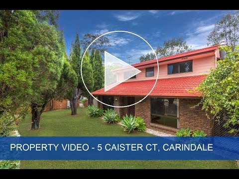 For Sale 5 Caister Court, Carindale Queensland. Property Video.