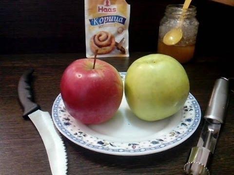 Печеные яблоки с медом ХозОбоз мы знаем о еде все