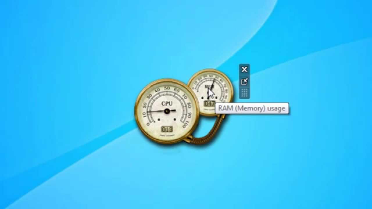 Baixar gadgets All CPU Meter para o Windows 7 e Windows 10