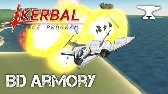 Anti-Air Testing - Kerbal Space Program & BD Armory