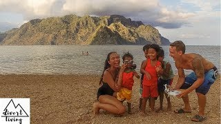 MOST UNDERRATED Beach CORON, PHILIPPINES | CUTEST Filipino Kids |