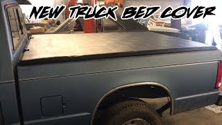 CHEAPSKATE BUDGET BUILD S10 TONNEAU BED COVER INSTALL!