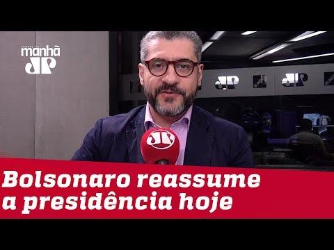 Bruno Garschagen: Bolsonaro queria reassumir Presidência desde que deu entrada no hospital