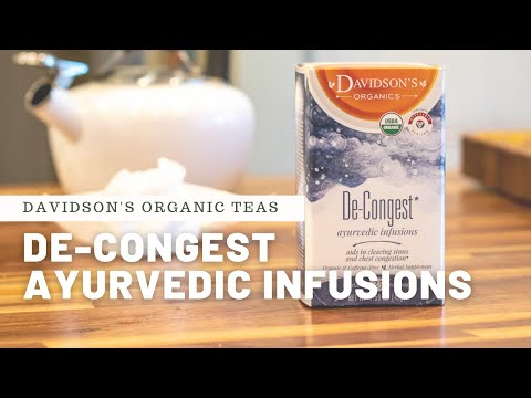 "Get De-Congest(ed), an ""Ayurvedic Infusion"" by Davidson's Organic Teas"