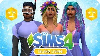 EVERY NEW CAS ITEM 🌴🌊 | Sims 4 Island Living Create A Sim