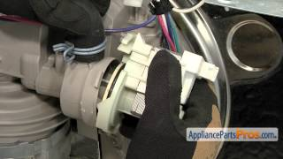 Dishwasher Drain Pump (part #WPW10348269) - How To Replace