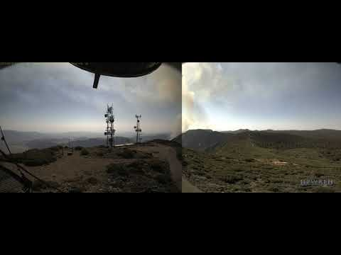 20210619 Overland Fire east of Mount Laguna