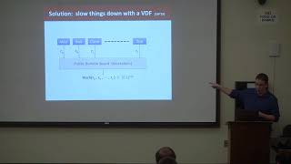 Verifiable Delay Functions - Dan Boneh