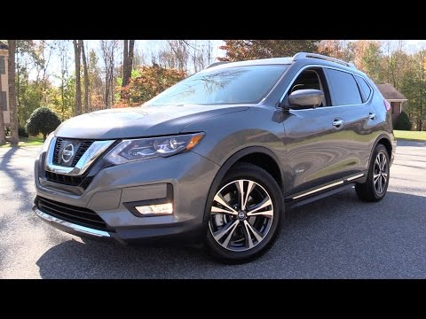 2017 Nissan Rogue SL (Hybrid + Non-Hybrid): Road Test & In Depth Review