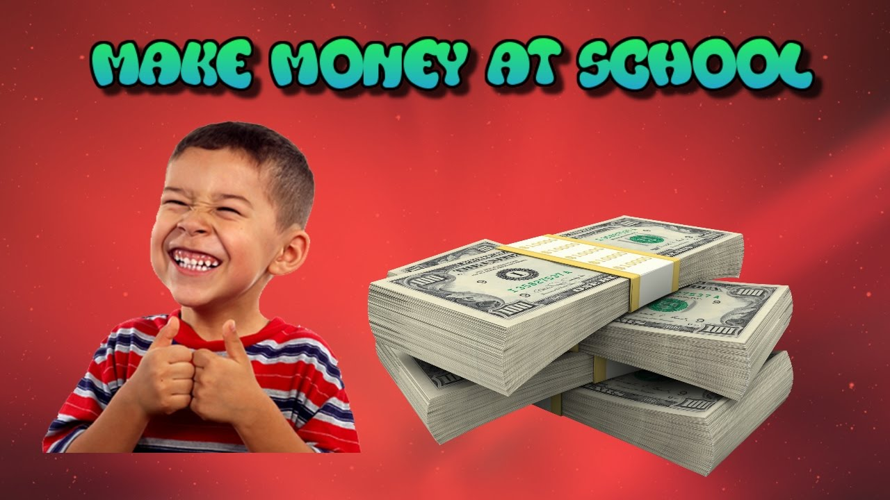 how to make money as a kid in middle school