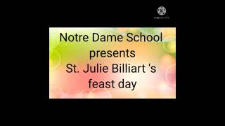 St Julie's Day July 12th 2021