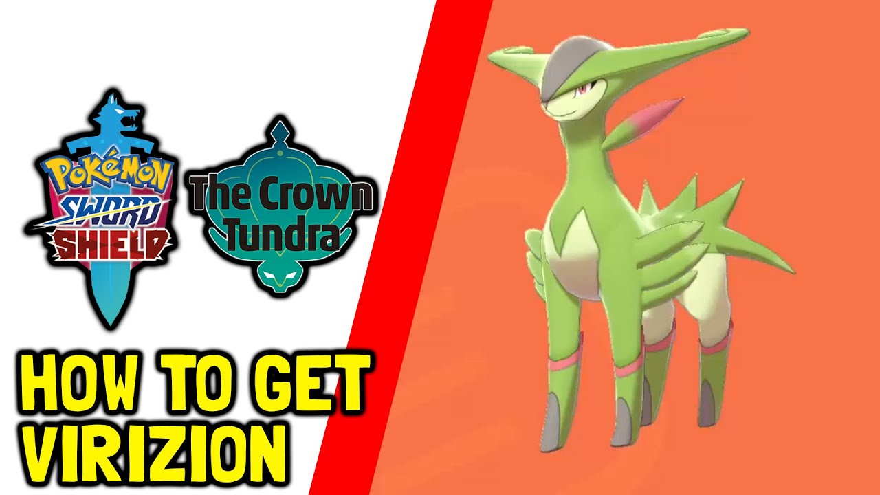 Pokemon Sword & Shield The Crown Of Tundra DLC How To Get Virizion (100% Grassland Footprints)