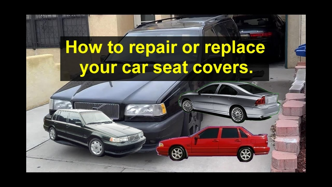 Car Seat Skin Cover Repair Or Replacement For Leater Cloth Seats