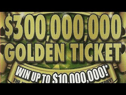 "Full Pack of $30 ""$300,000,000 GOLDEN TICKET"" Missouri Lottery Scratchers"