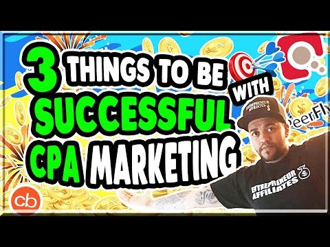 Affiliate Marketing 2018 - 3 Most Important Aspects To Be Successful in CPA Marketing Live Q/A