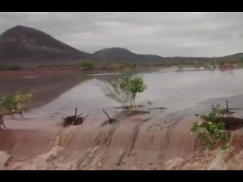 Fim de semana foi de chuva em todo o Rio Grande do Norte