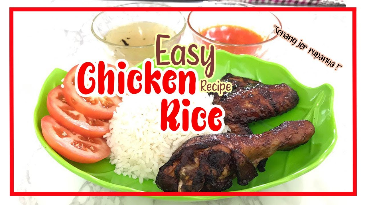 Nasi Ayam Recipe  | Chicken Rice Recipe | Easy Recipe | A&R Vlogz