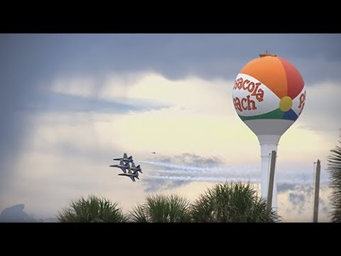 Pensacola Beach Airshow 2017 Super Slow Motion