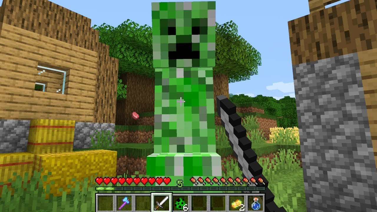 DON'T BE FRIENDS WITH A CREEPER IN MINECRAFT TO BE CONTINUED SCOOBY CRAFT PART 5