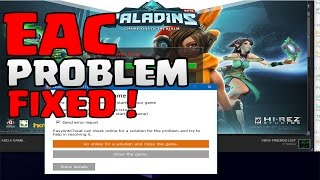 How To Fix Paladins EAC problem - Launcher Not Running 2017
