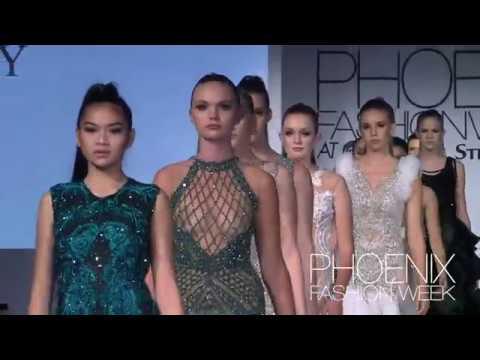 RESTY LAGARE at Phoenix Fashion Week 2017