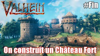 On construit un Château Fort #Fin Valheim !