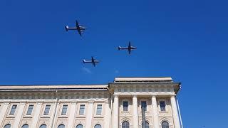 Самолеты и вертолеты морского базирования на Параде ВМФ - 2018, Санкт-Петербург