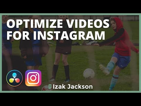 Creating Videos For Instagram In Davinci Resolve