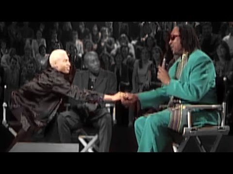 HD  Terence Trent Dar Interview with Stevie Wonder and Andrew Roachford