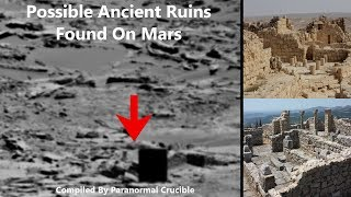 Possible Ancient Ruins Found On Mars?