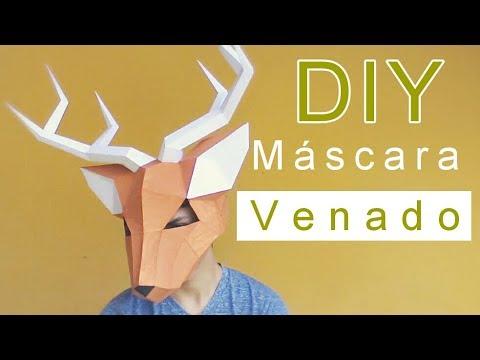 Cómo Hacer Una Máscara De Venado Con Papel De Forma Rápida Y Fácil Momuscraft