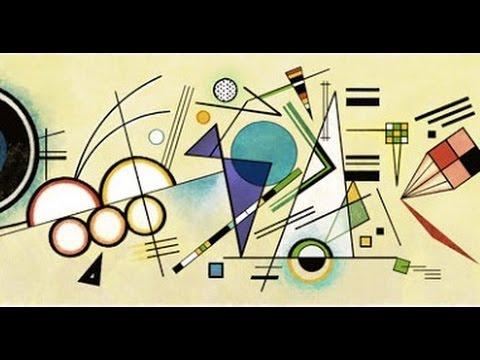 Wassily Kandinsky Google Doodle