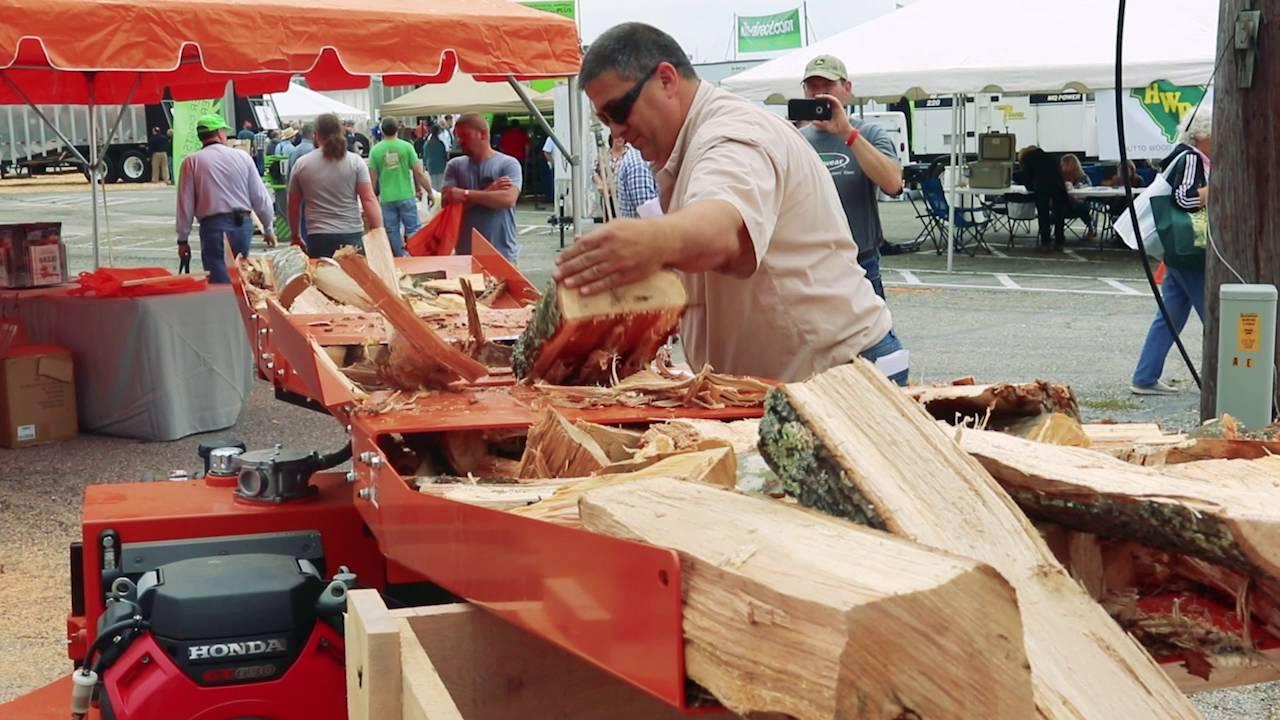 Highlighting Wood Mizer Logsplitters Youtube